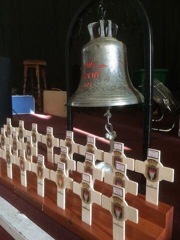 HMS Ardent Bell