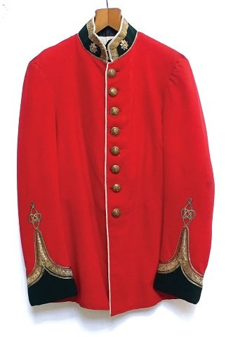 Devonshire Regiment scarlet tunic