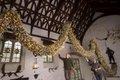 Christmas Garland at Cotehele