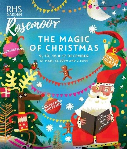 Seasonal entertainment at Rosemoor