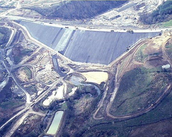 Aerial of asphalting