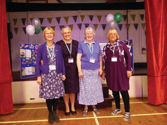 CHSW Belstone Susan Sandra Angela Edwina left to right