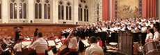 Plymouth Philharmonic Choir with the Orchestra of the Band of HM Royal Marines.