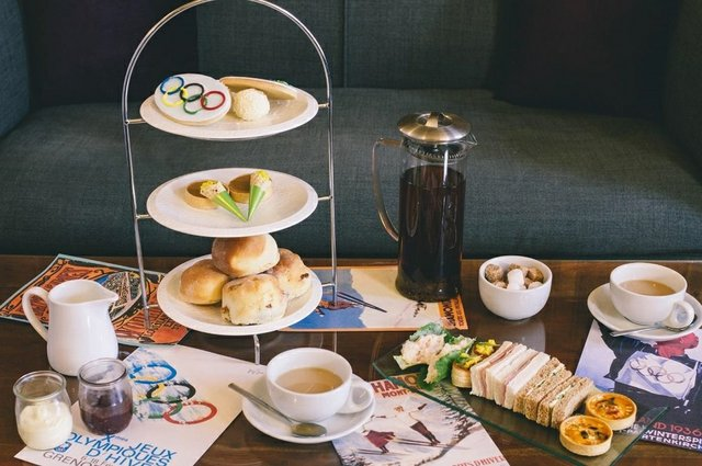 Boringdon Hall launches Winter Olympic themed Special Edition  Afternoon Tea
