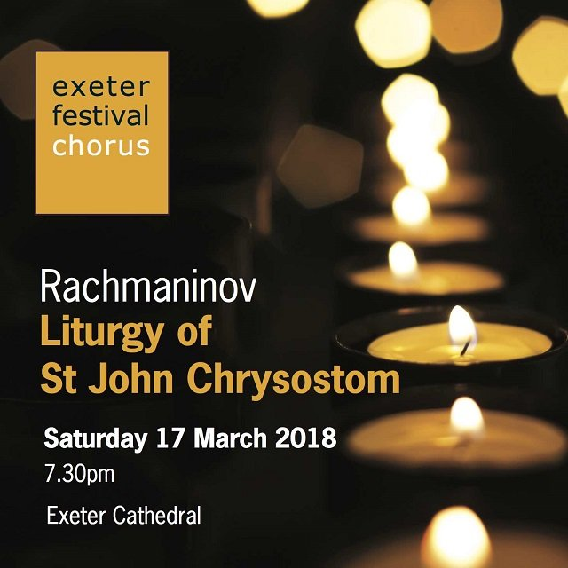 Nigel Perrin and The Exeter Festival Chorus are delighted to announce the first concert of their celebratory 25th Anniversary Season, 2018