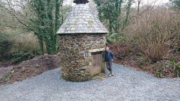 Head Gardener Nick Haworth in the improved dovecote area[1].jpg