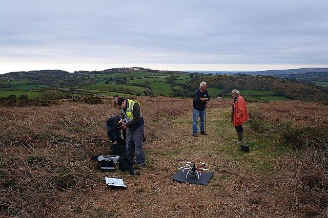 Drone on boundary mardon