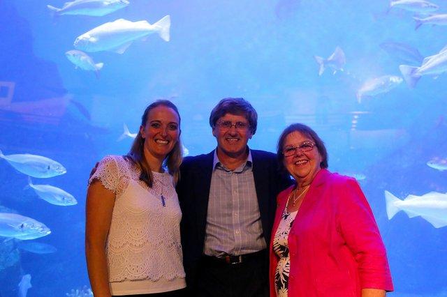 Sound Fish guide launch at the National Marine Aquarium