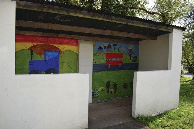 BMPC Crapstone bus shelter