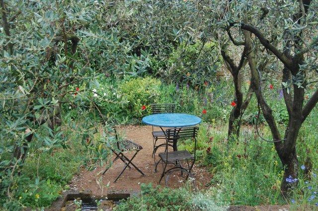 Provencal style garden, Chelsea