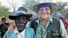 With Tribal Elder in Mozambique