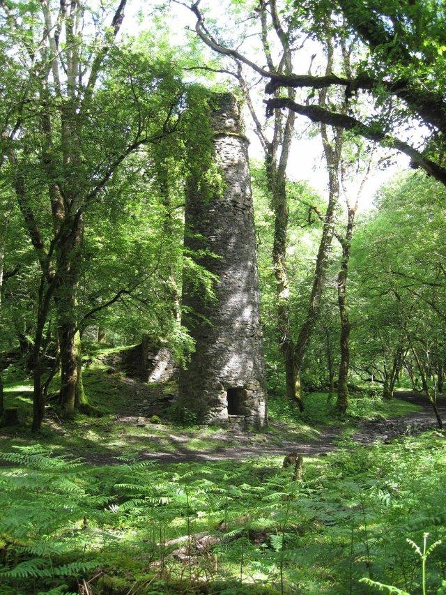 West Down mine chimney