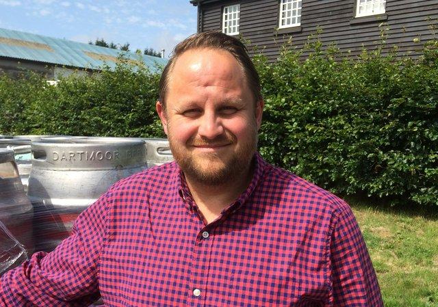 Tim Kellow Dartmoor Brewery 2.jpg