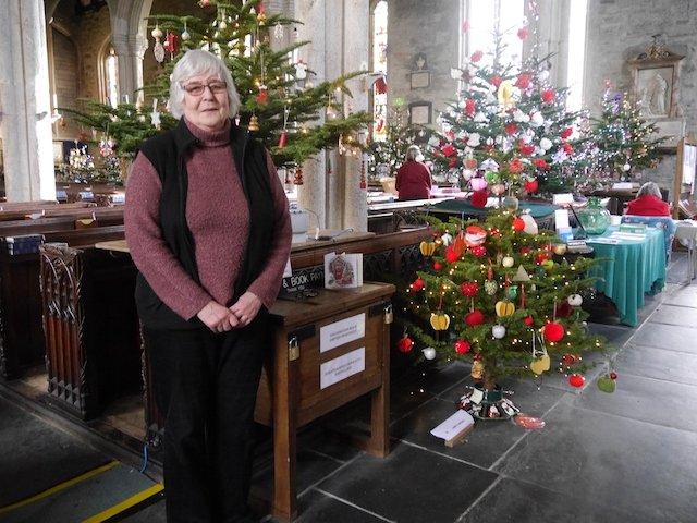Tree Festival organiser, Pat  Morrison.JPG