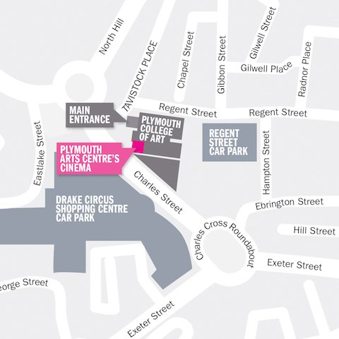 PCA1227 Plym Arts Centre Map-3