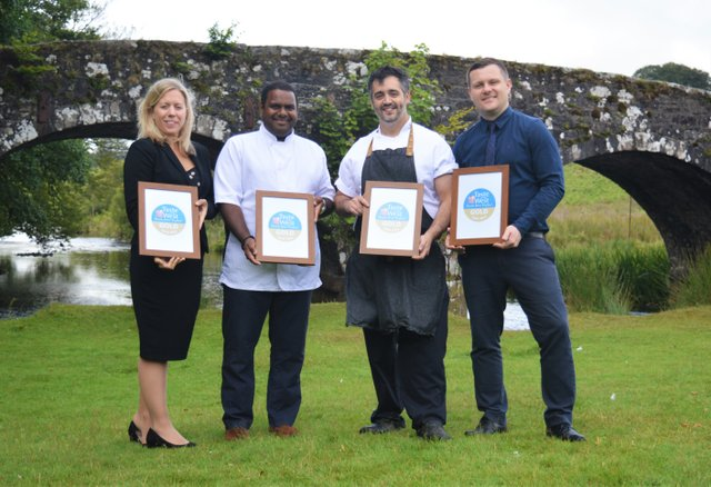 Hotel Team with Gold Awards from  Taste of the West.jpg