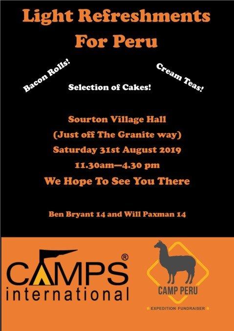Pop up cafe - Sourton Village Hall