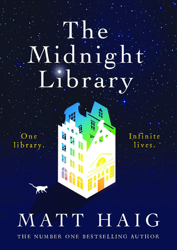 Front cover - The Midnight Library by Matt Haig