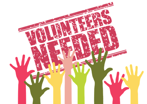 Volunteers are needed to support the vaccination programme