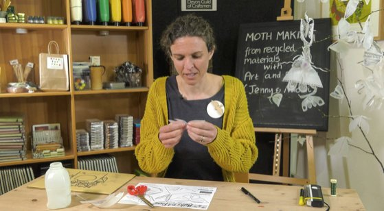 The Devon Guild of Craftsmen is offering free workshops for all
