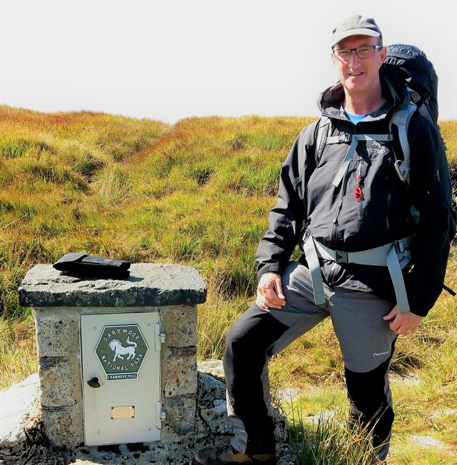 Chris Bunney is taking on his biggest Dartmoor challenge ever