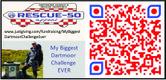 Chris Bunney's Rescue Appeal QR Code