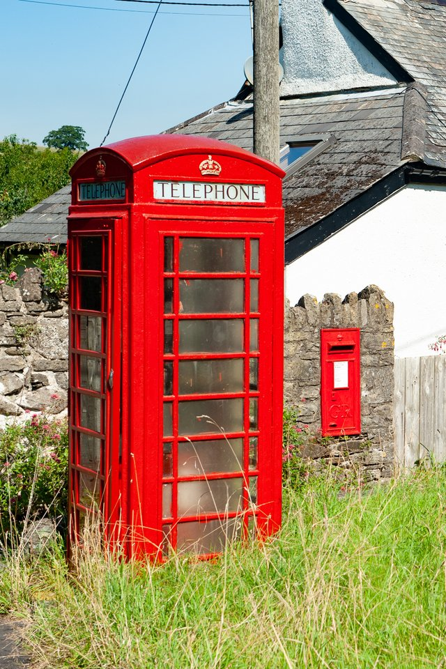 Helen Northcott has photographed Dartmoor's remaining red phone boxes