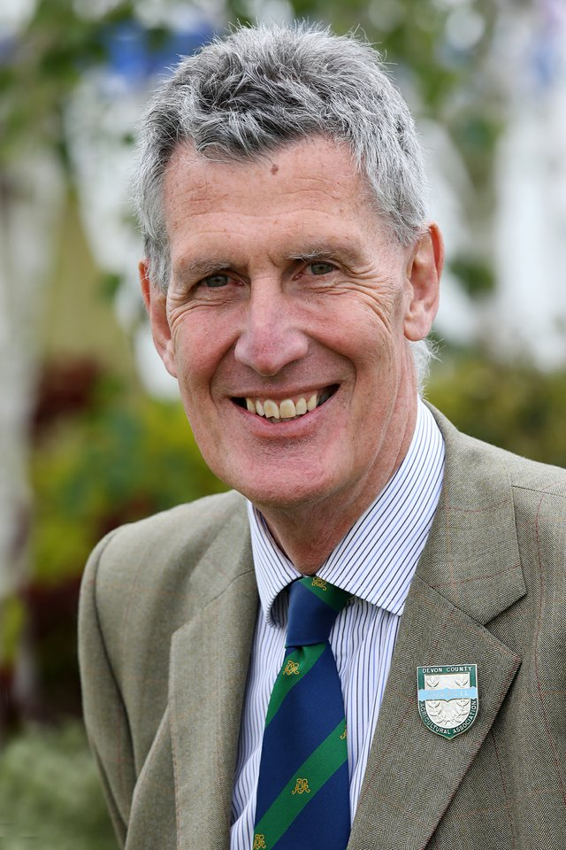 David Fursdon, The Lord-Lieutenant of Devon will take the official salute at the Great Devon Parade 2021