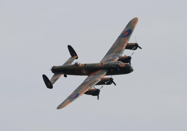 The Lancaster is an impressive sight