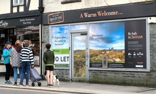 Tavistock is open for you...