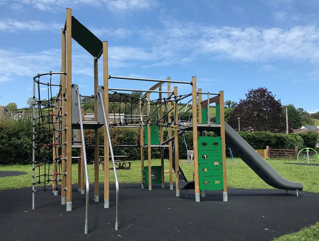 Residents are being consulted on the type of play equipment they would like to see in the park