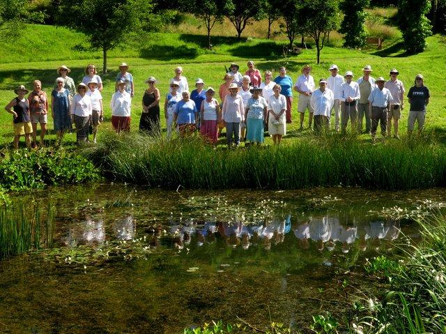 Photo 1 Plymouth Philharmonic Choir at The Garden House.JPG