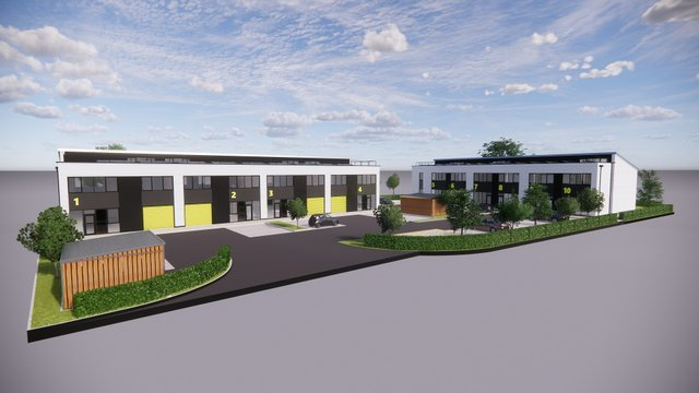 Site image of Plymouth International Medical and Technology Park in Derriford