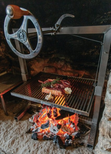 Eversfield Organic: Steak on Grill