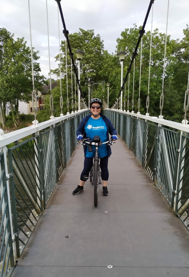 Exeter woman Maree Collier is determined to go the distance to support Hospiscare
