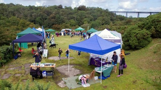 A previous Meldon Wildlife Festival