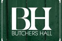 Butcher's Hall Tavistock logo