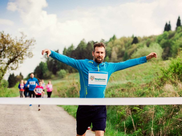 Walk, jog or run for end-of-life care