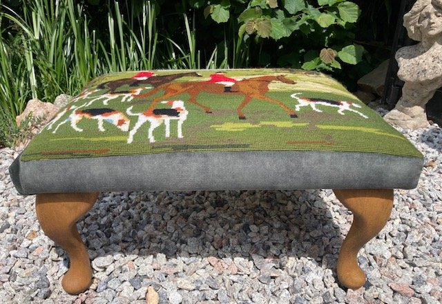 Tapestries can be used to create bespoke pieces of furniture
