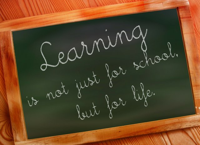 Learning is for life