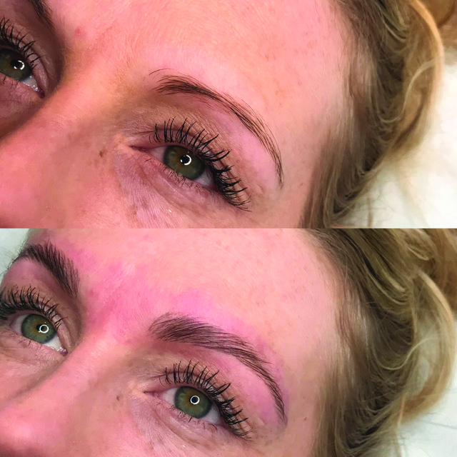 Lamination is the latest brow treatment to take the world by stormto