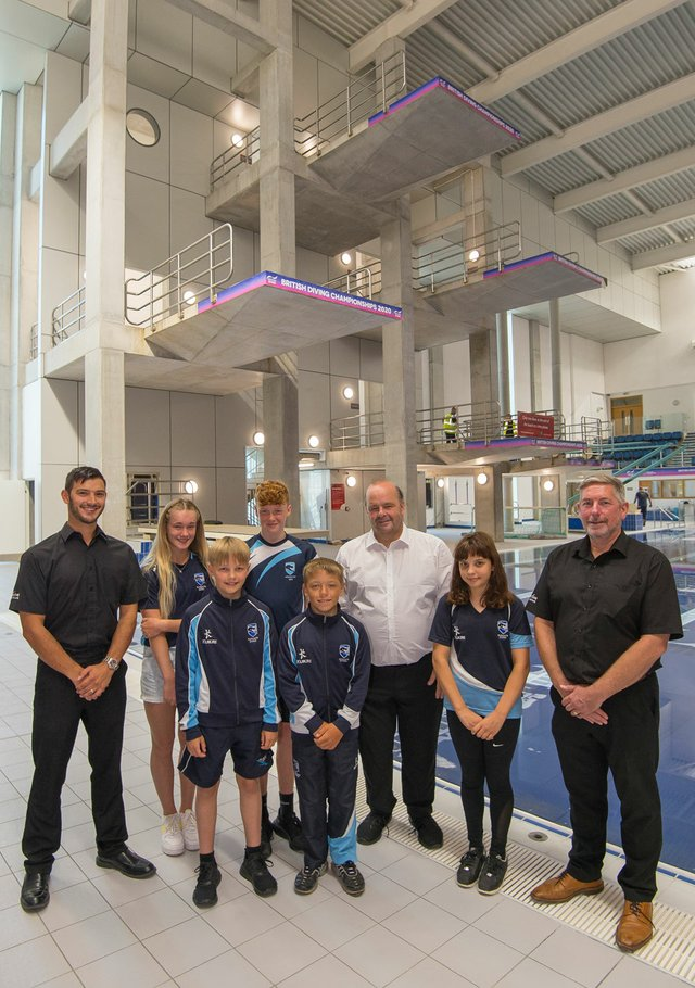Plymouth Life Centre's diving pool reopens this week
